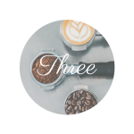 Coffee Three -Mini